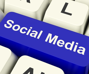 Social Networking Computer Key Showing Online Community
