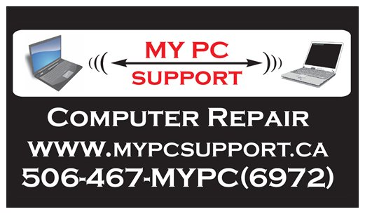 MYPCsupport Business Card