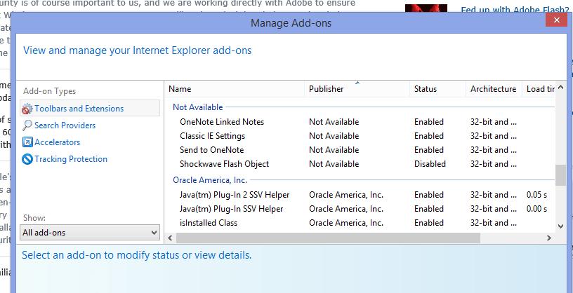 Flash Player Update